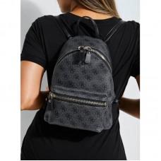 Жіночий брендовий рюкзак Guess (4557) grey