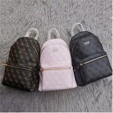 Женский брендовый рюкзак Guess (4557) grey