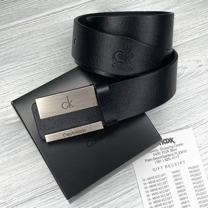 Мужской кожаный брендовый ремень (467)