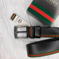 Мужской кожаный брендовый ремень (5003)