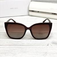 Женские брендовые солнечные очки с поляризацией (1050) brown