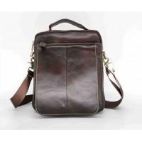 Удобная мужская сумка Leather Collection (5026) кожаная