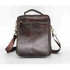 Зручна чоловіча сумка Leather Collection (5026) шкіряна
