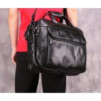 Мужская большая вместительная сумка Leather Collection (5028) кожаная