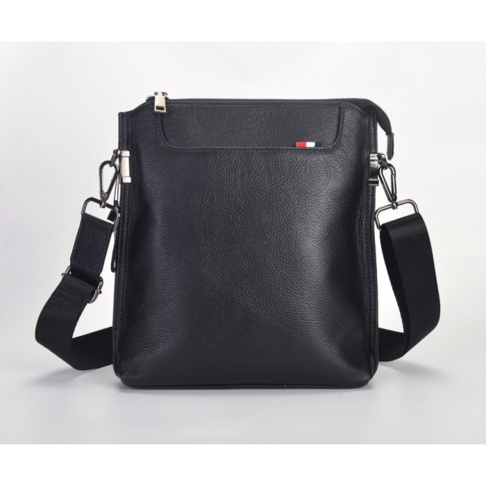 Мужская сумка планшет Leather Collection (5028) кожаная черная