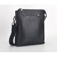 Мужская сумка планшет Leather Collection (5029) кожаная черная