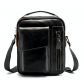 Кожаная мужская сумка Leather Collection (5030) черная