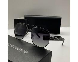 Сонцезахисні чоловічі окуляри Chrome Hearts 5079 grey