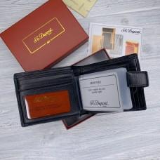 Кожаный мужской кошелек Dupont (51104) подарочная упаковка