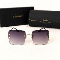 Женские безоправные солнцезащитные очки (5301) grey