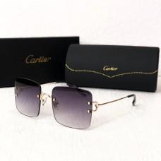 Жіночі безоправні сонцезахисні окуляри (5301) grey
