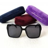Женские солнцезащитные очки с поляризацией Gucci (5420) черные