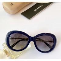 Cолнцезащитные женские очки Ch (5429) blue Lux