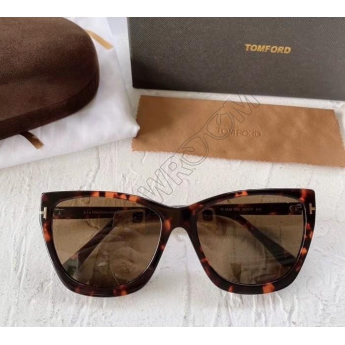 Женские очки от солнца TF (5520) brown LUX