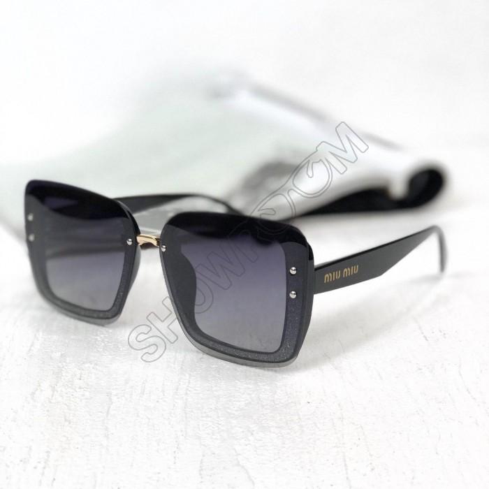 Женские солнцезащитные очки с поляризацией (5599) black