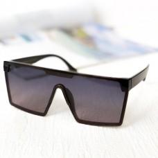 Жіночі брендові сонцезахисні окуляри маска з поляризацією (5899)