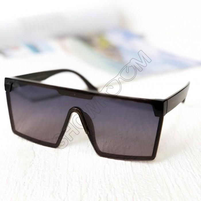 Женские брендовые солнцезащитные очки маска с поляризацией (5899)