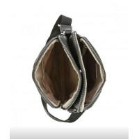 Мужская сумка на плечо David Jones 598 черная