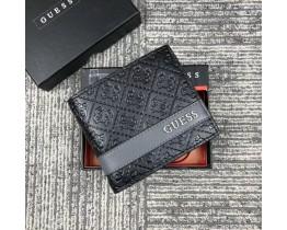 Мужской кожаный кошелек Guess (6001)