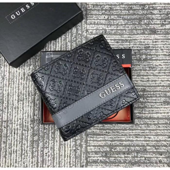 Мужской брендовый кошелек Guess (6001)