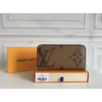 Брендовый женский кошелек (60017) brown LUX