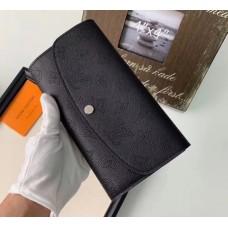 Жіночий модний шкіряний гаманець (60145) black