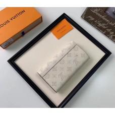 Жіночий модний шкіряний гаманець (60145) white