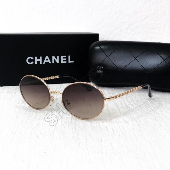 Женские брендовые очки от солнца (60602) brown