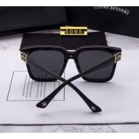 Cолнцезащитные женские очки Chrome Hearts (6095) black