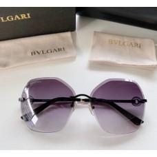 Жіночі брендові сонцезахисні окуляри Bv (6151) grey Lux