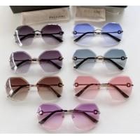 Женские брендовые солнцезащитные очки Bv (6151) brown Lux