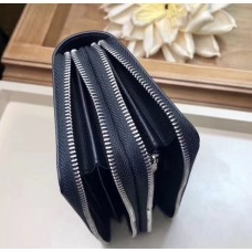 Чоловічий гаманець на блискавці (61723) Lux