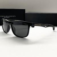 Мужские солнечные очки с поляризацией Porsche Design (6419) black