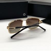 Мужские брендовые солнечные очки Mb (658) polaroid gold