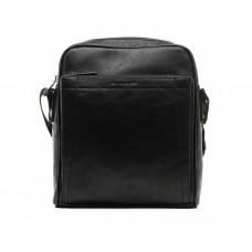Мужская сумка на плечо David Jones (6601) черная