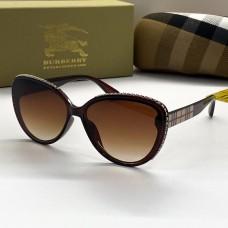 Жіночі брендові сонцезахисні окуляри (66032) brown