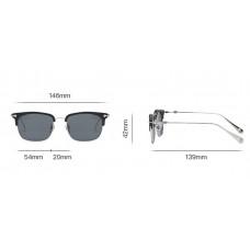 Мужские солнцезащитные очки Chrome Hearts (6627)