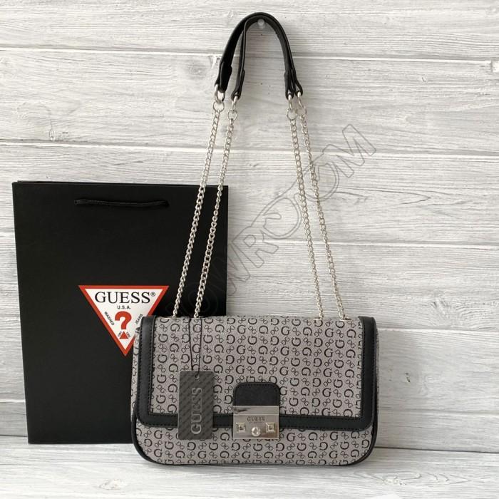 Женская сумка на плечо Guess (6685) grey