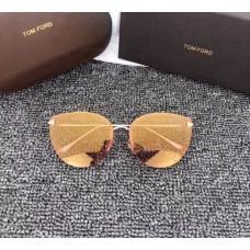 Брендові жіночі сонцезахисні окуляри TF (7297) rose