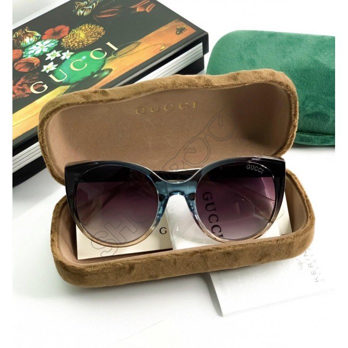 Женские брендовые солнцезащитные очки (6903)