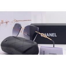 Жіночі брендові сонцезахисні окуляри (17251) grey