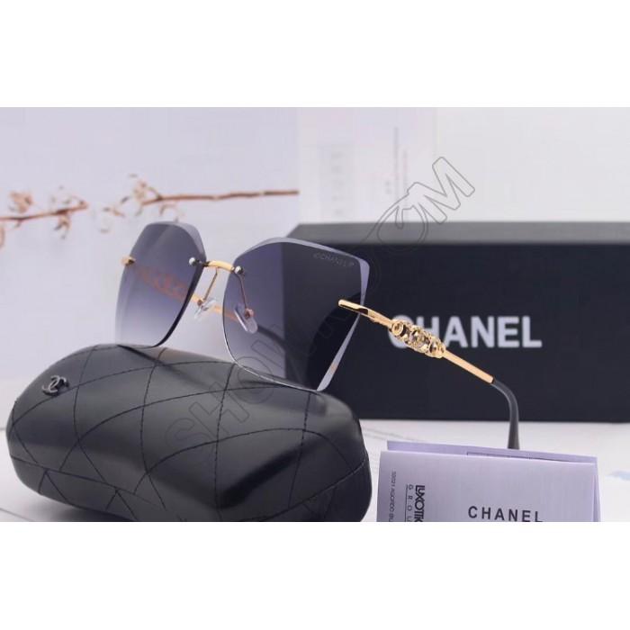 Женские брендовые солнцезащитные очки (17251) grey