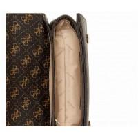 Женская сумка на плечо Guess (7021-1) brown