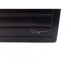 Чоловіче брендове портмоне на кнопці SF (7104) real leather