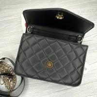 Небольшая женская сумочка на плечо Guess (7115) черная