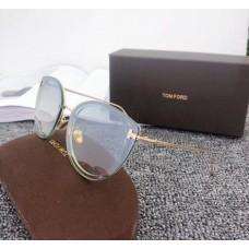 Брендові жіночі сонцезахисні окуляри TF (7297) green