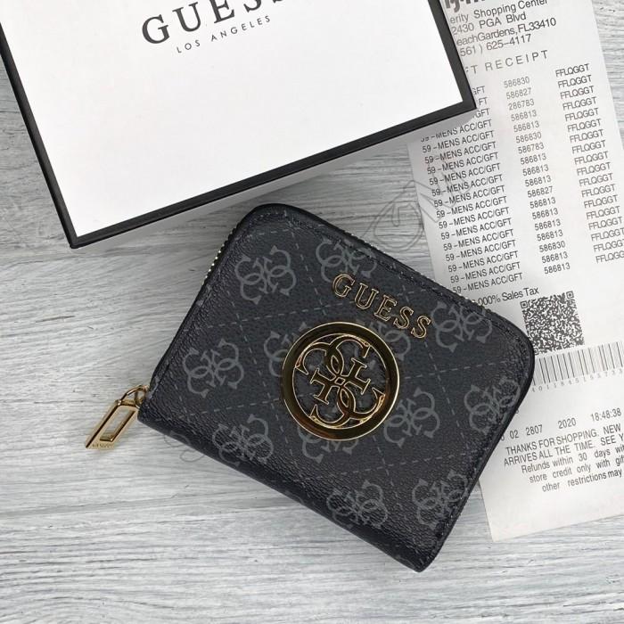 Небольшой женский кошелек Guess (758019) grey small