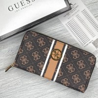 Женский кошелек Guess (758019) brown big