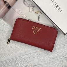 Женский брендовый кошелек Guess (7581) красный