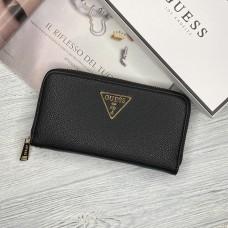 Женский брендовый кошелек Guess (7581) черный